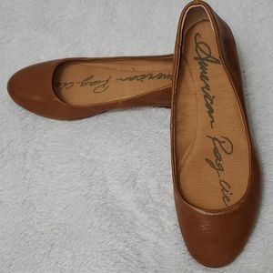 American Rag Faux Leather Flats